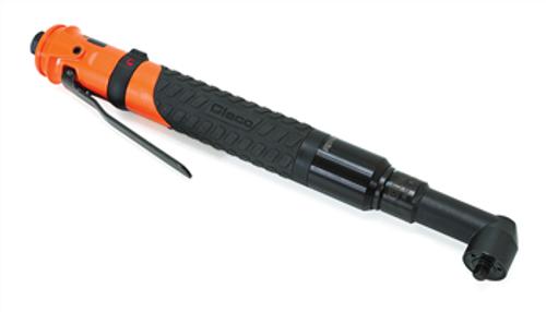 "Cleco 34RAA75AZ4 Clutch Shut-Off Pneumatic Angle Nutrunner   Collar Reverse   Lever Start   34 Series   155 RPM   1/2"" Square Drive"