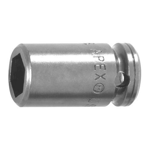 "Apex M1P06 1/4"" Drive Socket | Magnetic | 3/16"" | 6 Point"