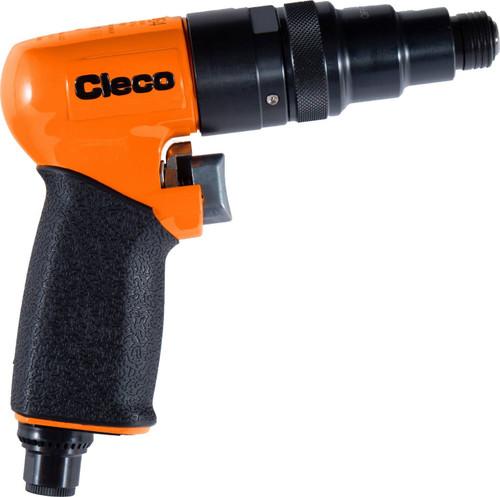 "Cleco MP2464 Reversible Positive Clutch Pistol Grip Screwdriver | MP Series | 2,800 RPM | 1/4"" Hex Quick Change"