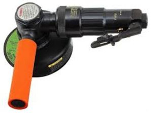 Cleco 216GLFB-135A-W3T4 Extended Head Right Angle Grinder   216 Series   0.6 HP   13,500 RPM   Aluminum Housing   Front Exhaust