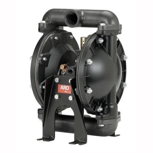 "Ingersoll Rand ARO 666100-3C9-C Metallic Diaphragm Pump (Hytrel)   1"" Ports"