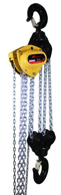 Ingersoll Rand KM100V-10-8 | 1 Ton Manual Chain Hoist | 10 Ft. Lift | Overload Brake