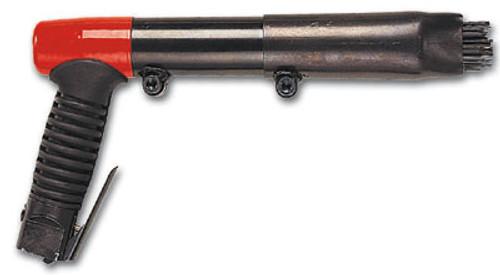 "Chicago Pneumatic B18M Pistol Grip Needle Scaler | 3,000 BPM | 0.9"" Bore | 1.4"" Stroke"