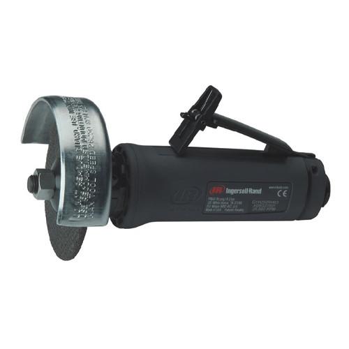 "Ingersoll Rand G1H250RH63 Straight Grinder | 0.4 HP | 25,000 RPM | 3/8""– 24 Thread, 3"" Guard | Rear Exhaust"