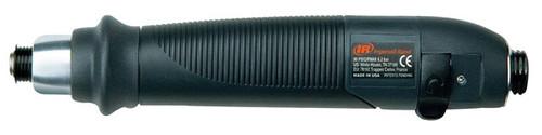 Ingersoll Rand QS1L10S1D Inline Pneumatic Screwdriver   1,000 RPM   2.7 - 39.8 (in-lb) Torque Range   Adjustable Shut-Off Clutch   Lever-Start