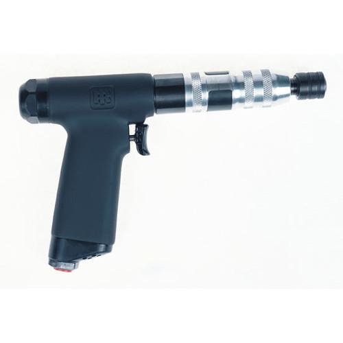 Ingersoll Rand 1RTMS1 Pistol Grip Screwdriver | 1,650 RPM | 4.4 - 20.4 (in-lb) Torque Range | Adjustable Shut-Off Clutch | Trigger and Push-to-Start