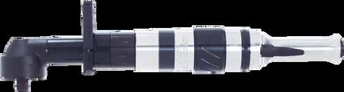 Cleco 75RNAL-2V-4 Clutch Shut-Off Pneumatic Angle Nutrunner   Collar Reverse   Lever Start   55 Series   130 RPM