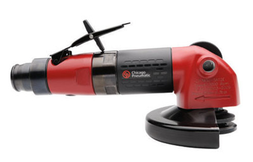 """Chicago Pneumatic CP3450-12AC45 4.5"""" Angle Wheel Grinder   1.1 HP   12,000 RPM (6151604030)"""