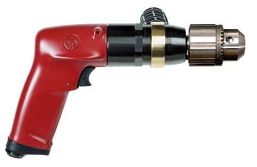 "Chicago Pneumatic Pistol Grip Drill | CP1117P05 | 1 HP | 1/2"" Jacobs Chuck"