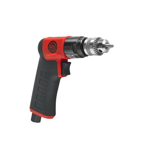 "Chicago Pneumatic Pistol Grip Drill | CP7300C | 0.3 HP | 1/4"" Jacobs Chuck, Keyed Chuck"
