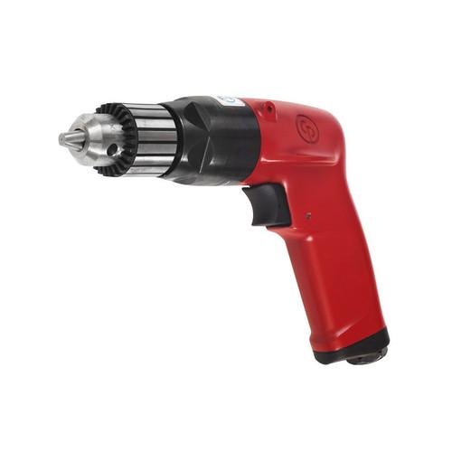 "Chicago Pneumatic CP1117P32 3/8"" Pistol Air Drill   Key Chuck   1 HP   3,200 RPM   4.0 (ft-lb) Stall Torque"