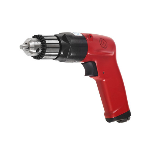 "Chicago Pneumatic CP1117P60 3/8"" Pistol Air Drill   Key Chuck   1 HP   6,000 RPM   2.5 (ft-lb) Stall Torque"