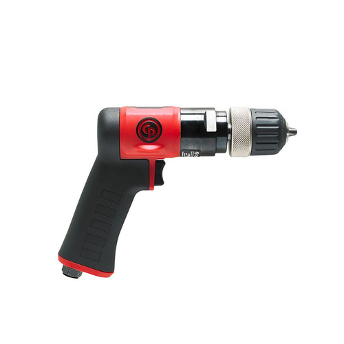 "Chicago Pneumatic CP9287C 3/8"" Pistol Air Drill | Keyless | 0.6 HP | 3,000 RPM | 4.1 (ft-lb) Stall Torque"