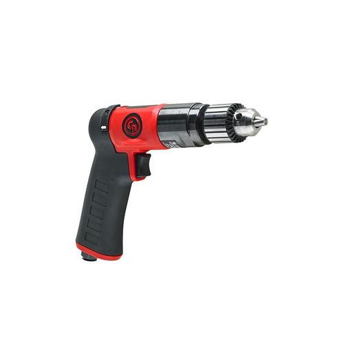 "Chicago Pneumatic CP9790C 3/8"" Pistol Air Drill | Keyed Metal | 0.5 HP | 2,100 RPM | 4.1 (ft-lb) Stall Torque"