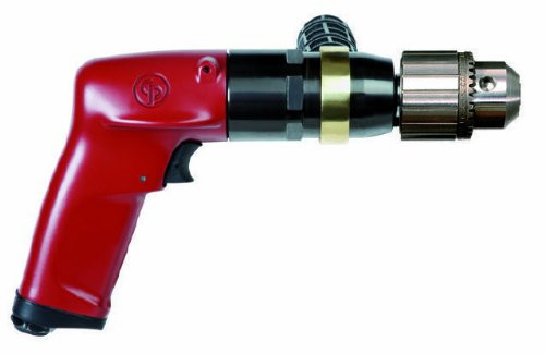 "Chicago Pneumatic Pistol Grip Drill   CP1117P09   1 HP   1/2"" Jacobs Chuck"
