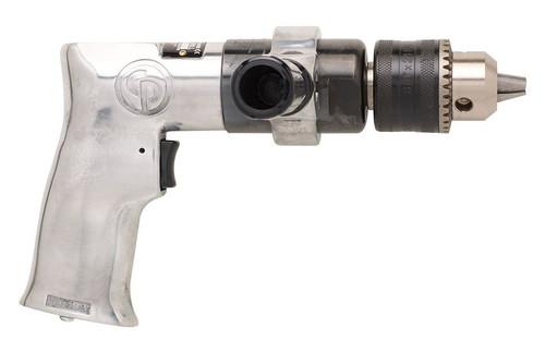 "Chicago Pneumatic CP785H 1/2"" Pistol Air Drill | Key Chuck | 0.5 HP | 500 RPM | 11.3 (ft-lb) Stall Torque"