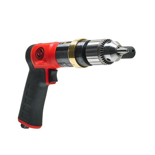 "Chicago Pneumatic CP9286C 1/2"" Pistol Air Drill | Keyed Metal | 0.5 HP | 600 RPM | 16.2 (ft-lb) Stall Torque"