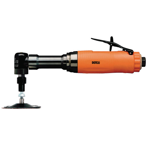 Dotco 12L2277-36 Right Angle Grinder | 12-22 Series | 0.6 HP | 12,000 RPM | Composite Housing | Rear Exhaust