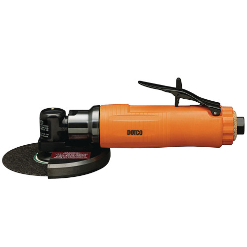 Dotco 12L2714-28 Right Angle Grinder | 12-27 Series | 0.9 HP | 14,500 RPM | Composite Housing | Rear Exhaust