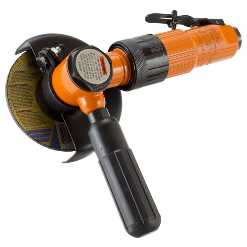 Cleco 236GLRB-135A-D3T4 Extended Head Right Angle Grinder   236 Series   0.8 HP   13,500 RPM   Aluminum Housing   Rear Exhaust