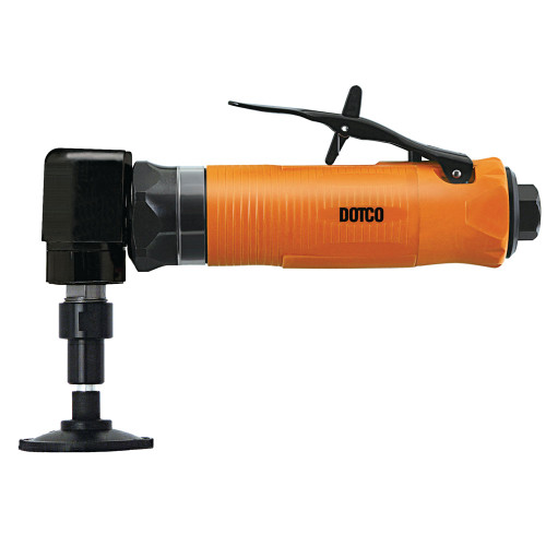 """Dotco 10LF200-32 Right Angle Grinder   10LF Series   0.4 HP   12,000 RPM   1/4""""- 28 i   Aluminum Housing   Front Exhaust"""
