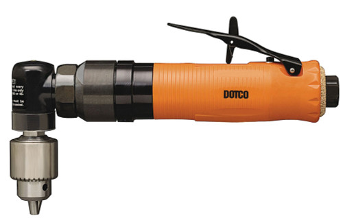 Dotco 15L1470-37 Right Angle Pneumatic Drill   15-14 Series   0.3 HP   12,000 RPM   Composite Housing   Rear Exhaust