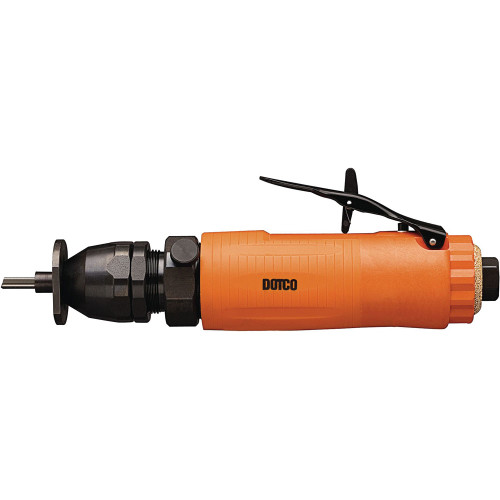 Dotco 12L2080-01RT Inline Router | 12-20 Series | 0.6 HP | 25,000 RPM | Composite Housing | Rear Exhaust