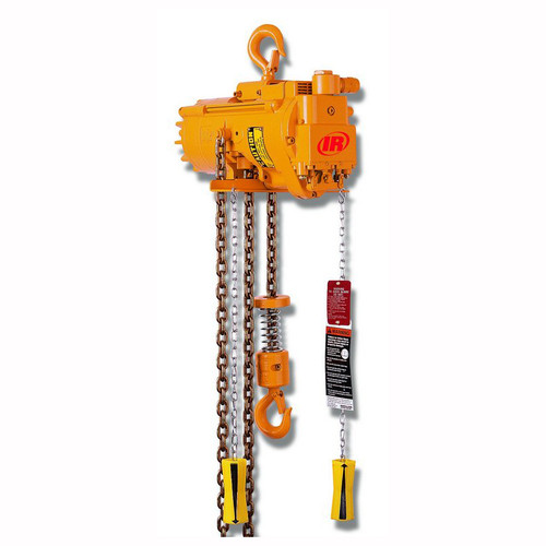 Ingersoll Rand ML1000K Chain Hoist   10 Feet of Lift   6 Feet of Drop