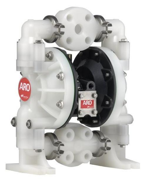 "ARO 6661A3-3EB-C 1"" Non-Metallic Diaphragm Pump (Santoprene) 3 Piece Manifold"