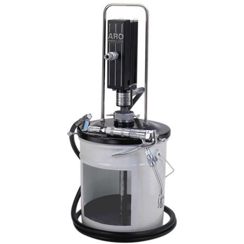 "Ingersoll Rand ARO LP3001-1 Piston Grease Pump Package | LP Series | 3"" Air Motor 35 lb | 50:1 Pump Pressure Ratio"