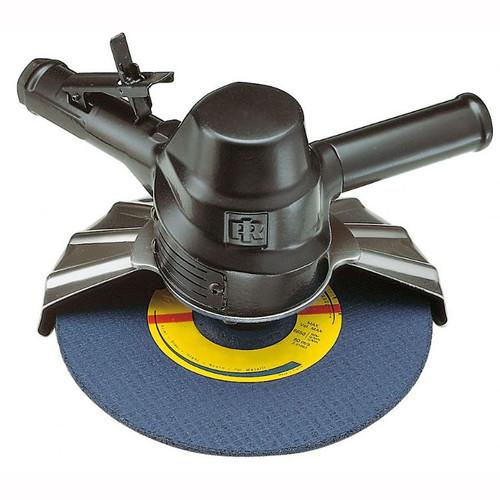 "Ingersoll Rand 88V60P109 Vertical Grinder | 2.1 HP | 6,000 RPM | 5/8"" - 11 Thread, 9"" Guard | Side Exhaust"