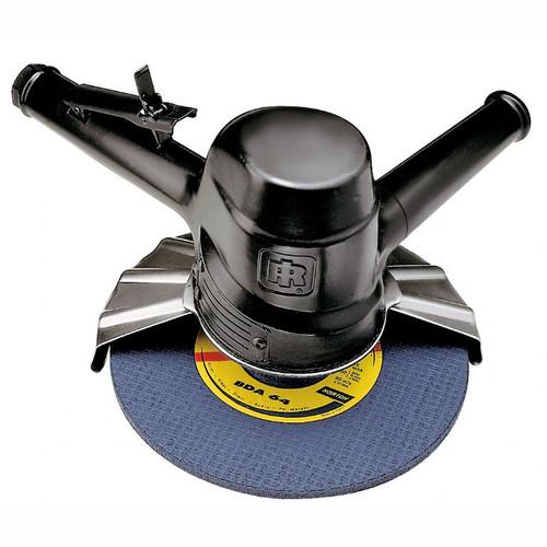 "Ingersoll Rand 99V60P109 Vertical Grinder | 3 HP | 6,000 RPM | 5/8"" - 11 Thread, 9"" Guard | Side Exhaust"