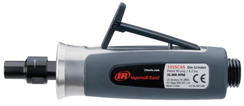 "Ingersoll Rand 325SC4A Straight Die Grinder | .40 HP | 25,000 RPM | 1/4"" Collet | Rear Exhaust"