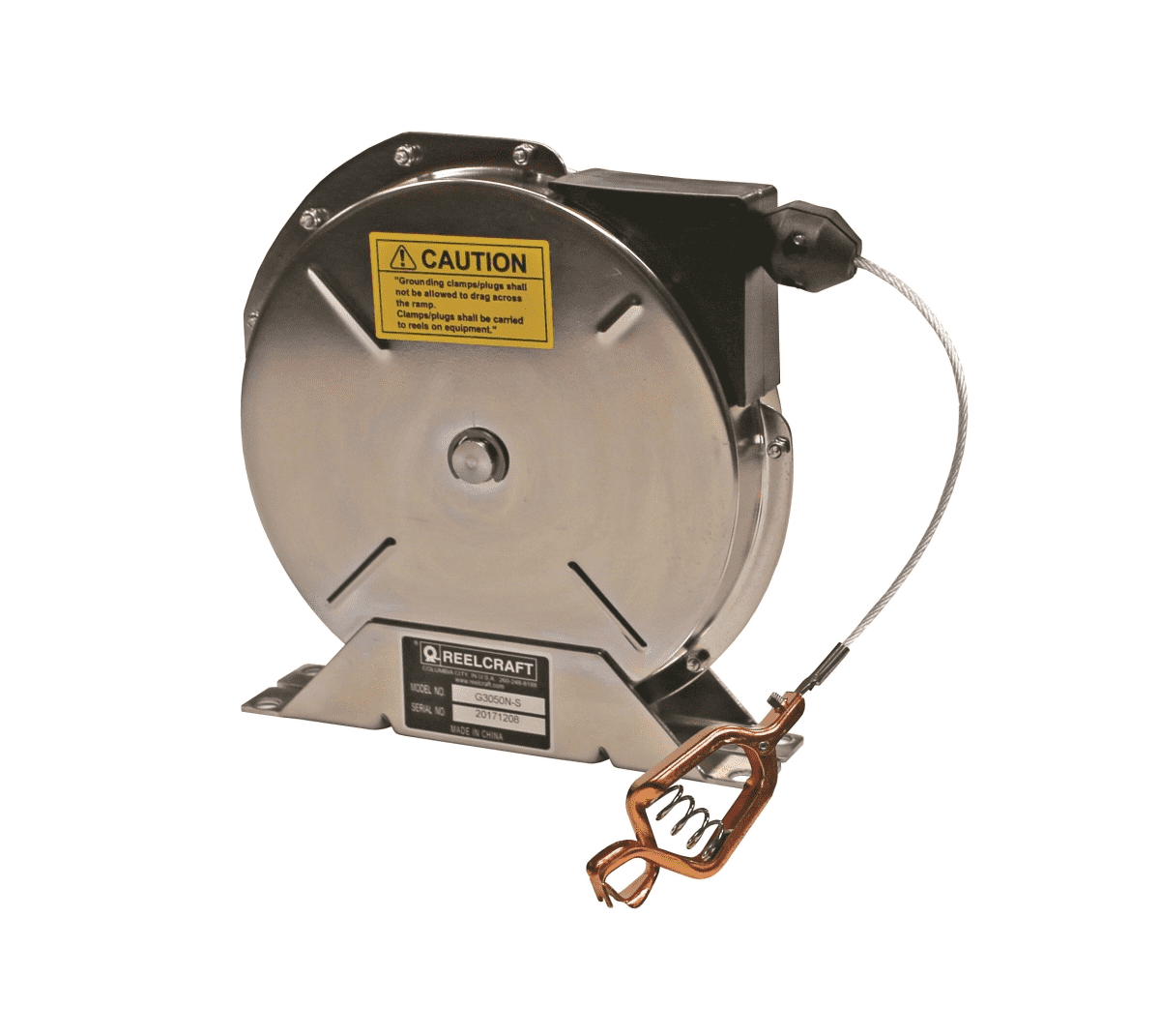 Static Discharge/Grounding Reels