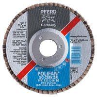 PFERD POLIFAN® Flap Discs