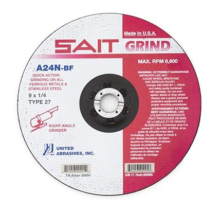 United Abrasives Grinding Wheels