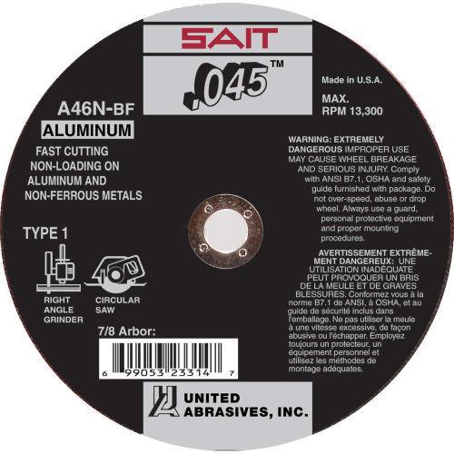 United Abrasives Type 1 Cut-Off Wheels