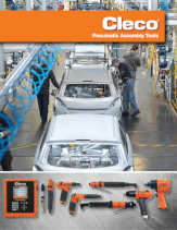 cleco pneumatic tools catalog thumbnail
