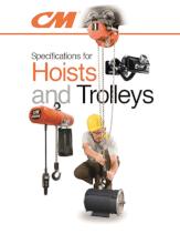 columbus mckinnon hoists and hoist trolleys catalog thumbnail