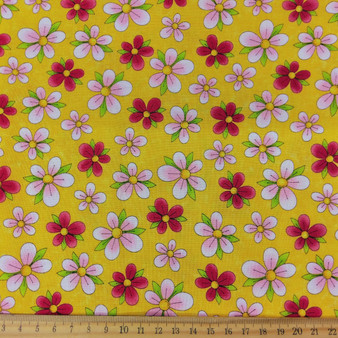 Kitty Floral - Yellow