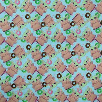 Baby Yoda Donuts