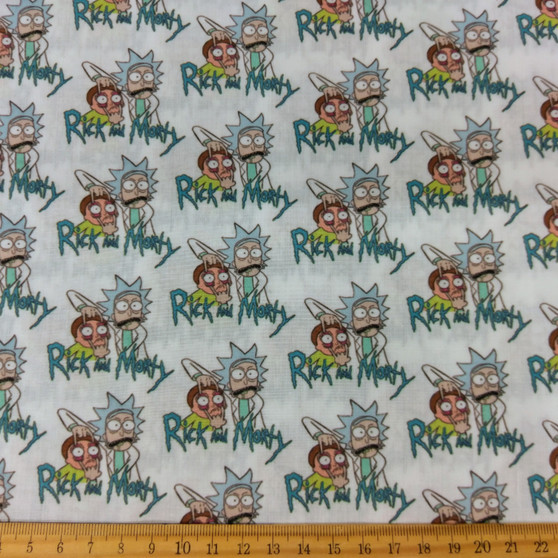 Rick and Morty Small Pattern