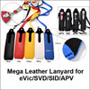 Mega Mod Leather Lanyard