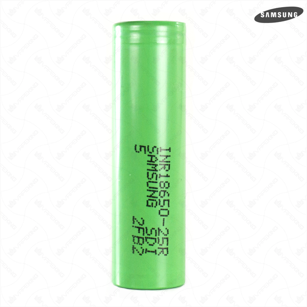 Samsung 25R 2500mAh High Drain Lithium Battery