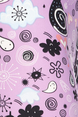 Wholesale Buttery Soft Lavender Kitty Cats Kids Leggings