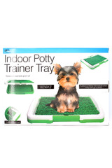Indoor Turf Potty Training Tray for Dogs