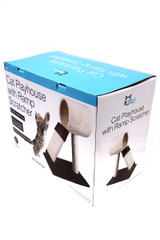 Wholesale Cat Tree with Condo Tunnel and Ramp Scratching Post