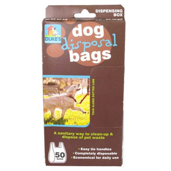 Wholesale Dog Waste Disposal Bags - Box with 50 Bags
