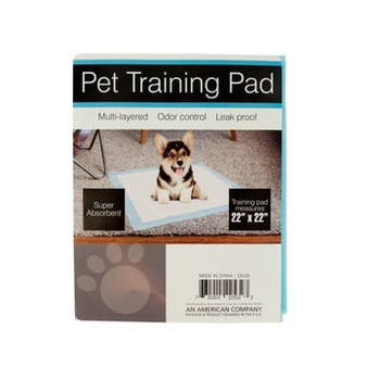 """Wholesale Odor Control Dog Training Pads  - 22"""" x 22"""" - 3 Pack"""