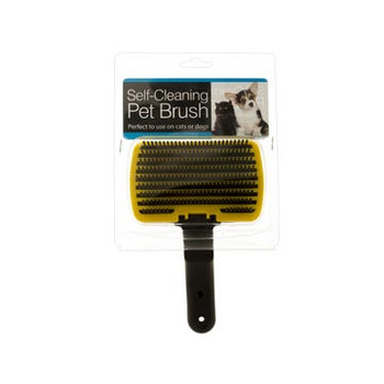 Wholesale Self-Cleaning Dog and Cat Pet Grooming Brush